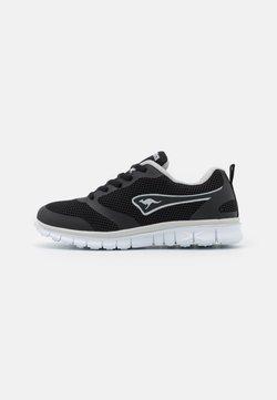 KangaROOS - MARCH - Sneakers laag - jet black/dark silver