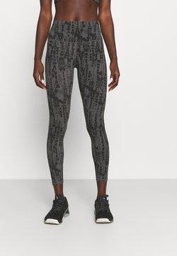 Varley - LUNA LEGGING  - Tights - black/dark grey