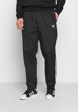 adidas Originals - ADICOLOR 3D TREFOIL 3-STRIPES TRACK PANTS - Jogginghose - black