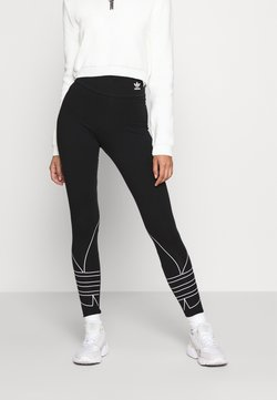 adidas Originals - LOGO TIGHTS - Legging - black