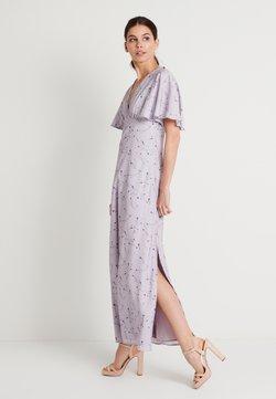 NA-KD - ZALANDO X NA-KD V NECK FLOWY DRESS - Gallakjole - lilac
