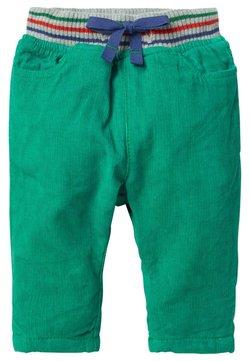 Boden - MIT GERIPPTEM BUND - Shorts - schottengrün
