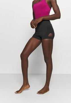 Capezio - KEYHOLE SHORT - Tights - black