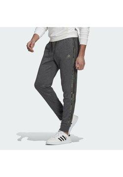 adidas Performance - COMOUFLAGE PT ESSENTIALS SPORTS REGULAR PANTS - Jogginghose - grey