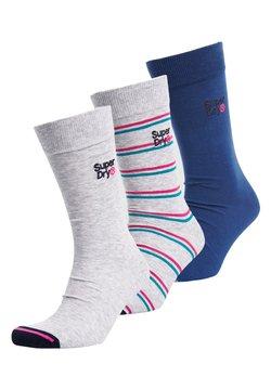 Superdry - 3 PACK - Socken - grey marl