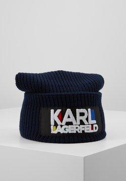 KARL LAGERFELD - KARL BAUHAUS BEANIE - Bonnet - navy