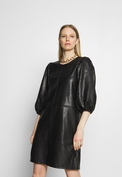 Kaffe - KAEDLYN DRESS - Robe d'été - black deep