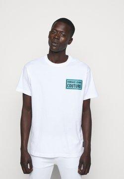 Versace Jeans Couture - Camiseta estampada - bianco ottico