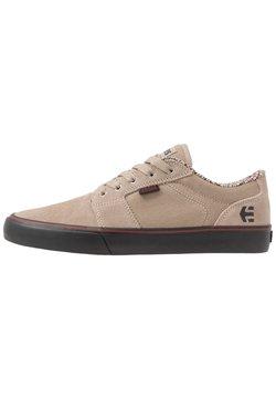 Etnies - BARGE - Sneakers laag - tan/black