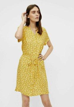 Object - BIRDY DRESS - Vestido camisero - mottled yellow