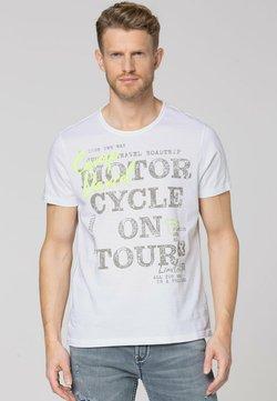 Camp David - MIT VINTAGE- UND PUFF-PRINT - T-Shirt print - opticwhite
