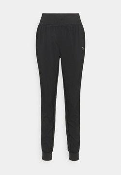 Puma - RUN FAVORITE TAPERED PANT - Pantaloni sportivi - black