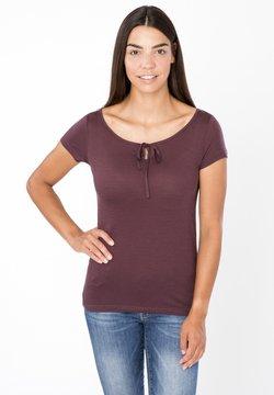 super.natural - RELAX TEE - T-Shirt print - dunkelbraun