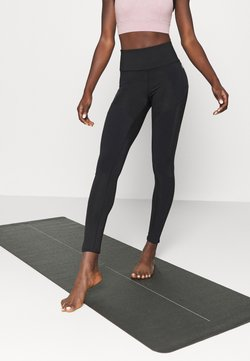 Free People - BORN TO RUN LEGGING - Medias - black