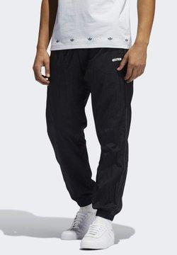 adidas Originals - Reversible TP SPRT COLLECTION ORIGINALS REGULAR TRACK PANTS - Jogginghose - black