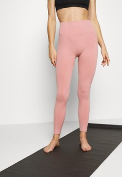 Nike Performance - SEAMLESS 7/8 - Collants - rust pink/white