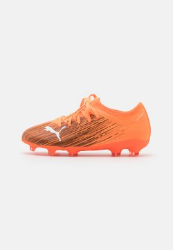 Puma - ULTRA 3.1 FG/AG JR UNISEX - Chaussures de foot à crampons - shocking orange/black