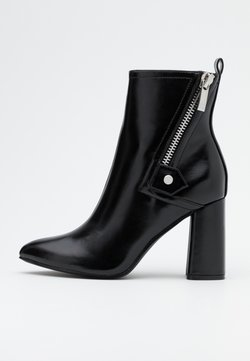 ONLY SHOES - ONLBRODIE ZIP BOOT  - Stiefelette - black