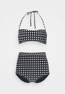 O'Neill - BELLA TALAIA FIXED SET - Bikini - black/white