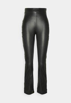 Nly by Nelly - SIDE CUT PANTS - Pantaloni - black