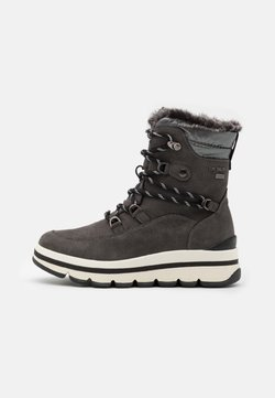 TOM TAILOR - Snowboot/Winterstiefel - coal