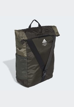 adidas Performance - CLASSIC FLAP TOP SHOPPER BACKPACK - Tagesrucksack - green