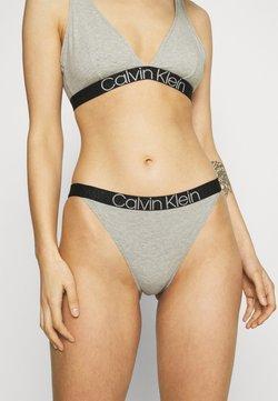 Calvin Klein Underwear - HIGH LEG TANGA - Slip - grey heather