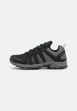 Hi-Tec - WARRIOR - Hiking shoes - black/military green