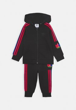 adidas Originals - TREFOILHOOD SET - Survêtement - black