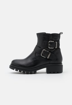 Tamaris - BOOTS - Botki kowbojki i motocyklowe - black