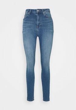 NA-KD - HIGH WAIST - Jeans Skinny Fit - mid blue