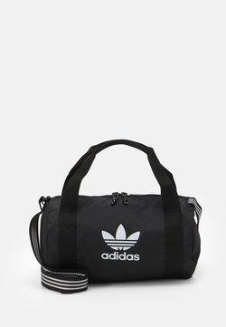 adidas Originals - SHOULDER UNISEX - Sporttasche - black/white