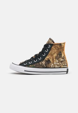 Converse - CHUCK TAYLOR ALL STAR UNISEX - Sneakersy wysokie - black/multicolor/white