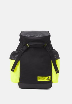 adidas Performance - Reppu - black/acid yellow