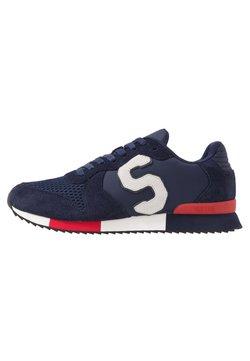 Superdry - RETRO RUNNER - Sneaker low - lauren navy/vintage red