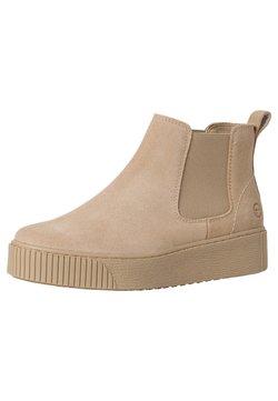 Tamaris - Boots à talons - beige