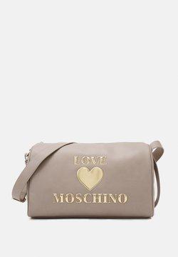 Love Moschino - BORSA - Sac week-end - grigio