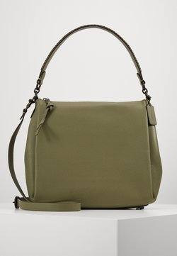 Coach - WHIPSTITCH DETAIL SHAY SHOULDER BAG - Torebka - light fern