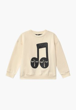 Mini Rodini - BABY NOTE PATCH  - Sweater - offwhite