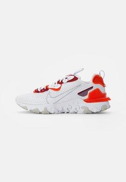 Nike Sportswear - NIKE REACT VISION - Baskets basses - white/lt smoke grey-team orange-team red-pure platinum