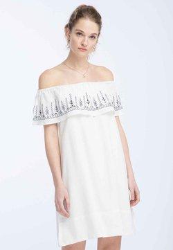 DreiMaster - Robe d'été - wool white