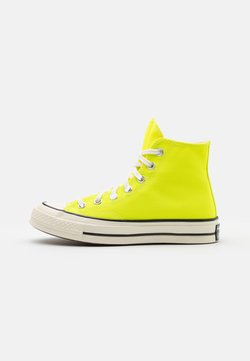Converse - CHUCK TAYLOR ALL STAR 70 UNISEX - Sneakersy wysokie - lemon/egret/black