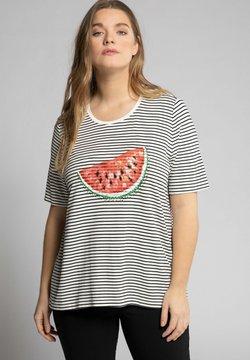 Ulla Popken - T-Shirt print - schwarz