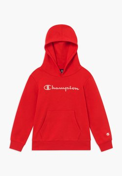 Champion - LEGACY AMERICAN CLASSICS HOODED UNISEX - Luvtröja - red
