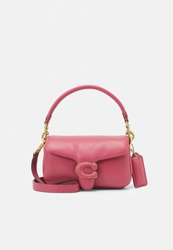 Coach - COVERED C CLOSURE PILLOW TABBY SHOULDER - Handtas - rouge