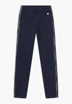 Champion - AMERICAN CLASSICS TAPE - Spodnie treningowe - dark blue