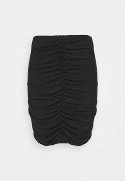 Vero Moda Curve - VMKALISA SKIRT - Minirock - black
