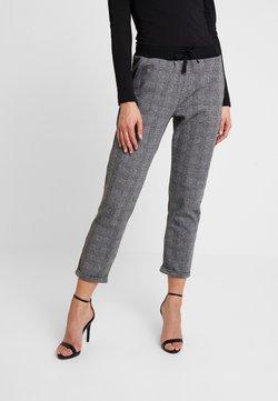 Mavi - DRAWSTRING CHECK PANTS - Jogginghose - grey