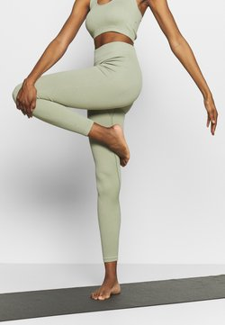 South Beach - SEAMLESS LEGGING - Tights - dessert sage