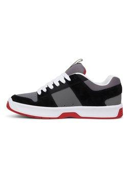 DC Shoes - Skateschuh - black/grey/red